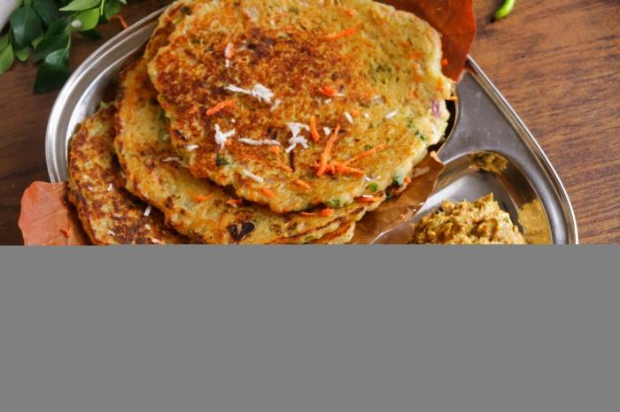 Rava Adai Recipe | Rava Kara Adai Dosa Recipe | How to make Rava Adai