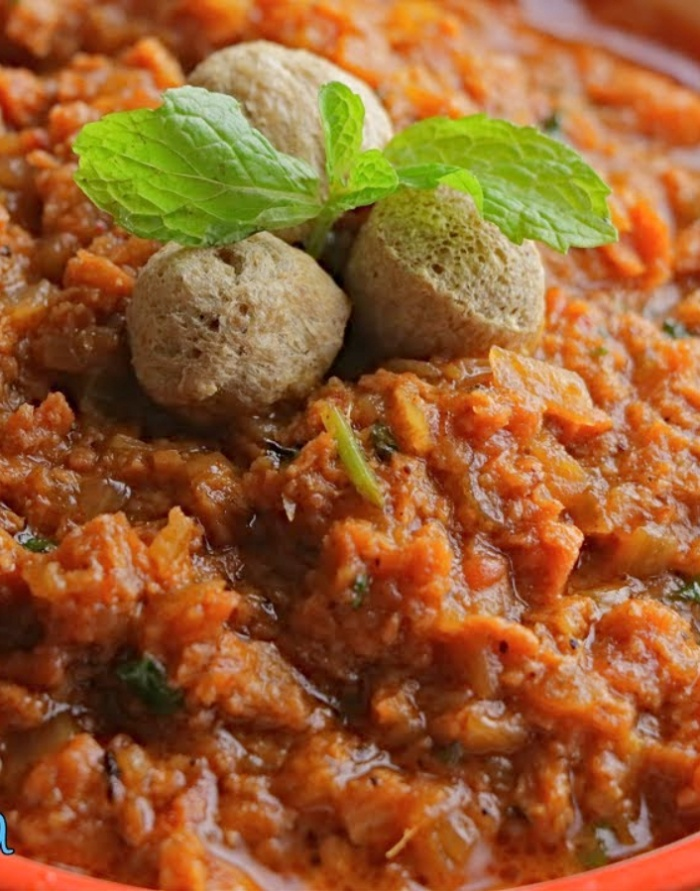 Soya Kheema Masala   Spicy Minced Soya   Mealmaker Kheema Masala   How to make Soya Kheema Masala Curry for Roti and Chapathi