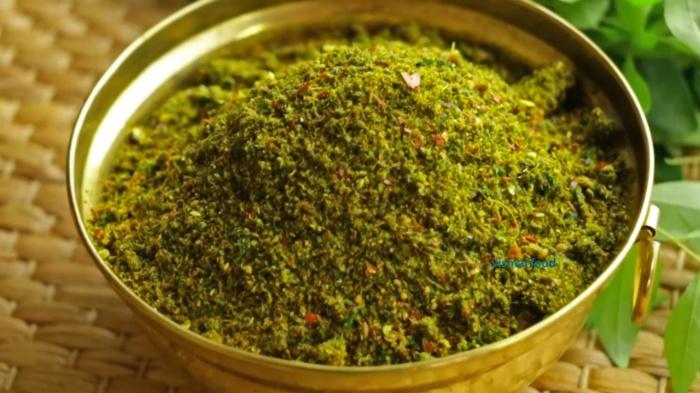 Curry Leaves Podi recipe | Karivepaku Podi | How to make Curry Leaves Powder
