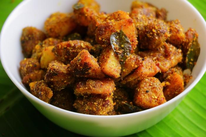 Chettinad Spicy Crispy Potato Fry Recipe | How to make Crispy Potato Fry Recipe