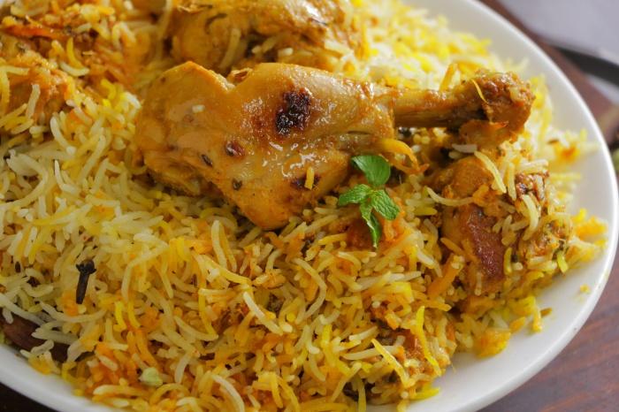 Hyderabadi Chicken Dum Biryani Recipe