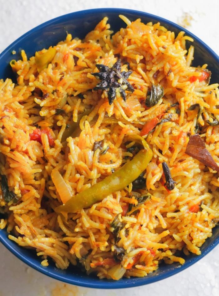 Khuska Pulao Recipe | Khuska Biryani | Vegetable Khuska | How to make Khuska