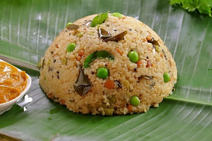 Wheat Rava Upma