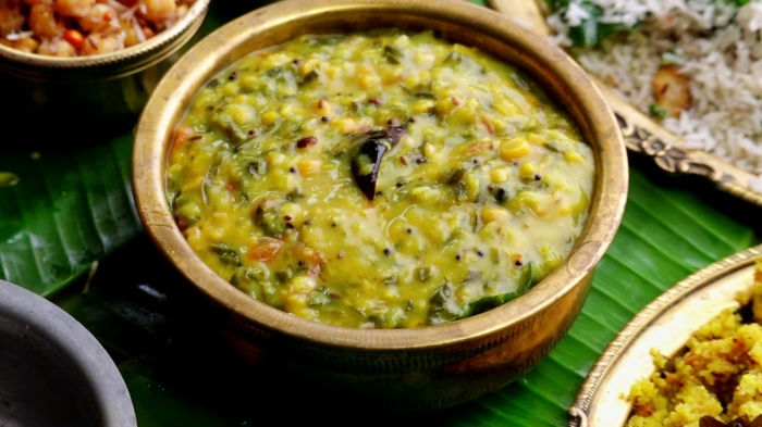 Malabar Spinach Dal | Bachala Aaku Pappu | Healthy Recipe