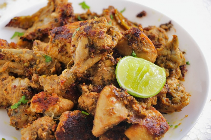 Lemon Chicken Fry | Spicy Juicy Lemon Chicken Fry at Home