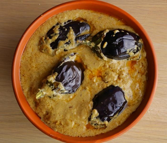 Brinjal Malai Curry | Shahi Malai Baingan | Gutti Vankaya Gravy curry | How to make Shahi Malai Baingan at home