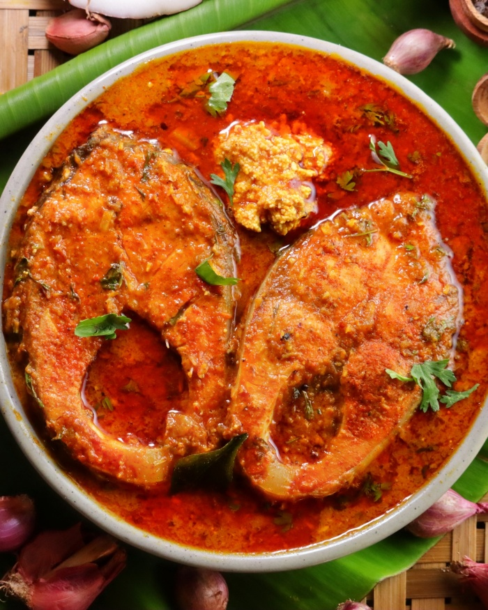 Chettinad Fish Stew | South Indian Chettinad Fish Gravy | How to make Chettinad Fish Curry