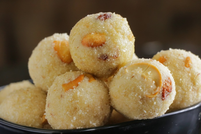 Rava Laddu Recipe   How to make Rava Laddu at home   Suji ke Laddu   Rava Ladoo Preparation