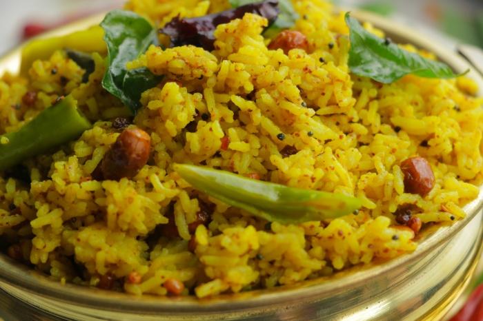 Tamarind Rice | Prasadam Style Recipe | Prasadam Pulihora