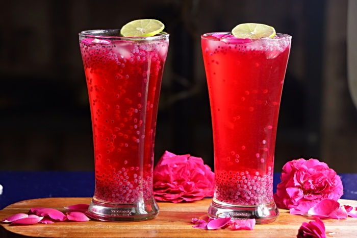 Rose Sharbath | How to make Rose Sharbath | Sharbat Recipe | Summer Cool Drinks Recipes